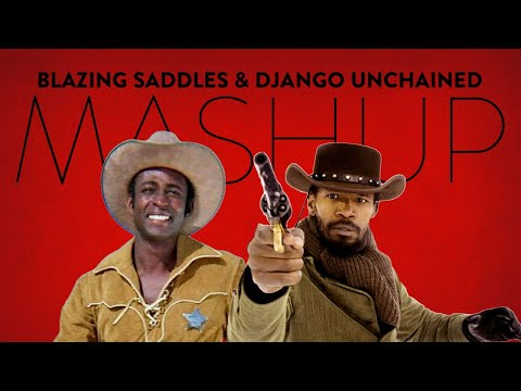 Exclusive – Django Unchained & Blazing Saddles Movie Trailer Mashup!