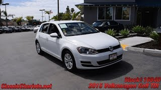 Used 2015 Volkswagen Golf TDI S for Sale in San Diego - 16940