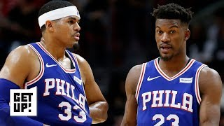Jimmy Butler, Tobias Harris' future with the 76ers is still in question – Woj | Get Up!