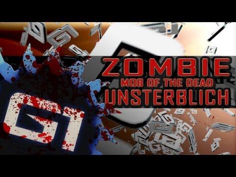 BO2 ZOMBIE MOB OF THE DEAD GLITCH UNSTERBLICH - GERMAN PS3/XBOX360