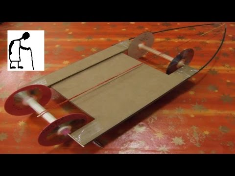 how to make a balloon car with cardboard