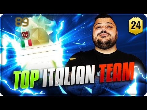 Road Top Italian Team : Nuova Super Leggenda !!! [FIFA 16]