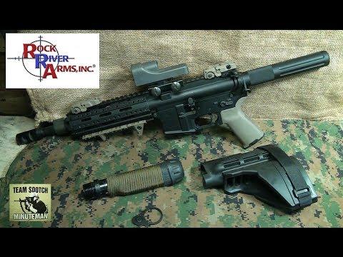 Rock River AR Pistol Buffer Tube Install