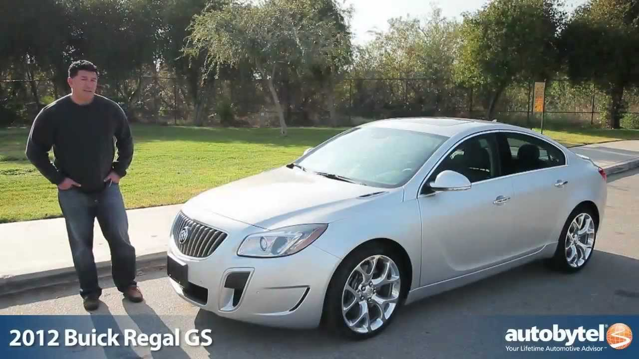 2012 Buick Regal Gs Turbo Test Drive Amp Car Review Youtube