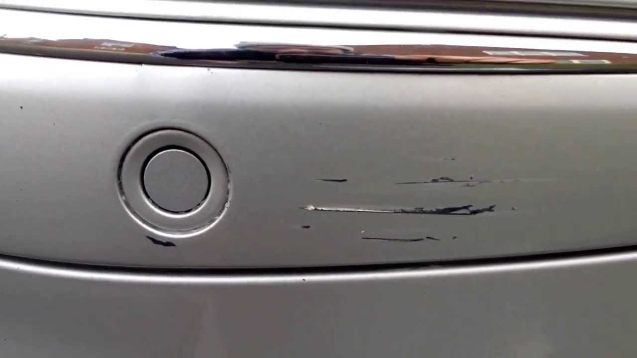 Car Plastic Bumper Scratch Repair