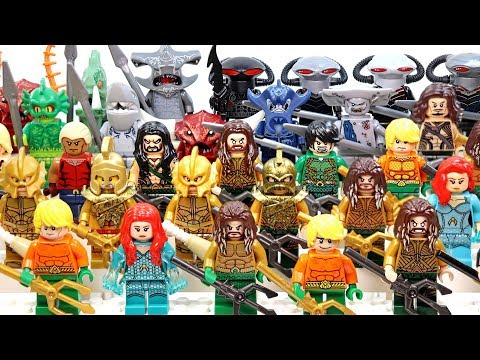 LEGO Aquaman King of Atlantis Seven Kingdoms Trench Creatures  Minifigure Collection