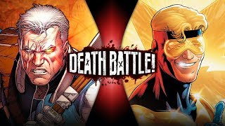 Cable VS Booster Gold (Marvel VS DC Comics) | DEATH BATTLE!