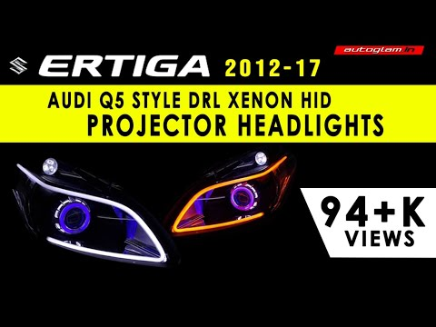 AGME701,Suzuki ERTIGA,Audi Style Projector Headlight by AUTOGLAM.IN,Car Accessories,INDIA