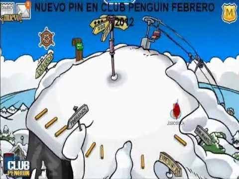 NUEVO PIN EN CLUB PENGUIN FEBRERO 2012