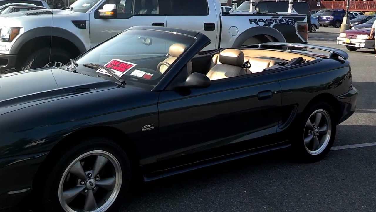 1995 Mustang Gt Convertible For Sale All Original Garaged