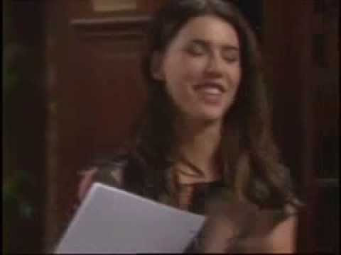 B&B BLOOPER STEFFY THORNE Bold Beautiful Jacqueline MacInnes Wood E! Party On Promo Preview 12-23-13