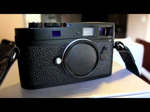The Leica M9 P in Black Paint Finish