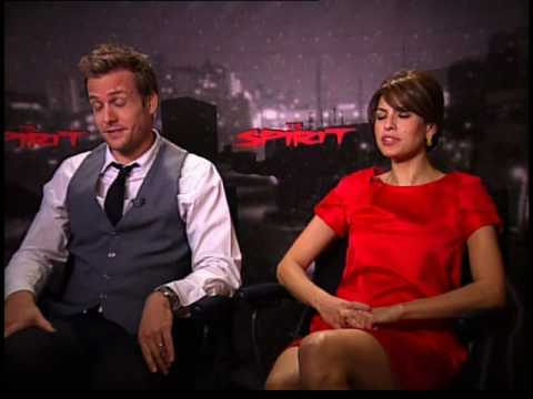 Eva Mendes Gabriel Macht interview for The Spirit Video