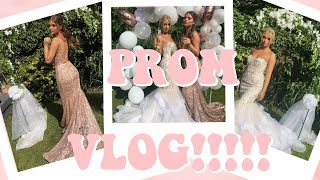 COME TO PROM WITH US! BRITISH PROM VLOG