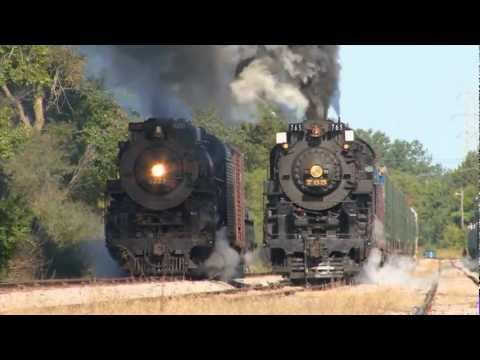 BIG TRAINS in Action #1 | Lots of Trains Pass By | Video for Kids