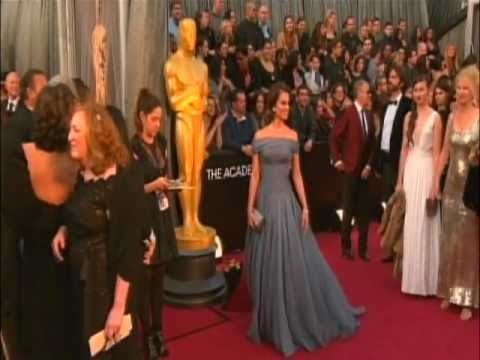 OSCARS 2012: Red Carpet Arrivals and Fashion Highlights Part 2 [HD]