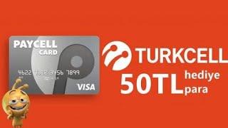 PAYCELL HEDİYE PARA KULLANMA (Turkcell Mobil Ödeme)