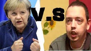 Angela Merkel V.S Psycho Andreas