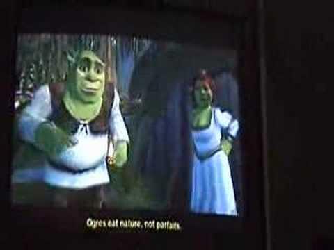 Jogando Shrek 2 no Gamecube com Xeno 2.0