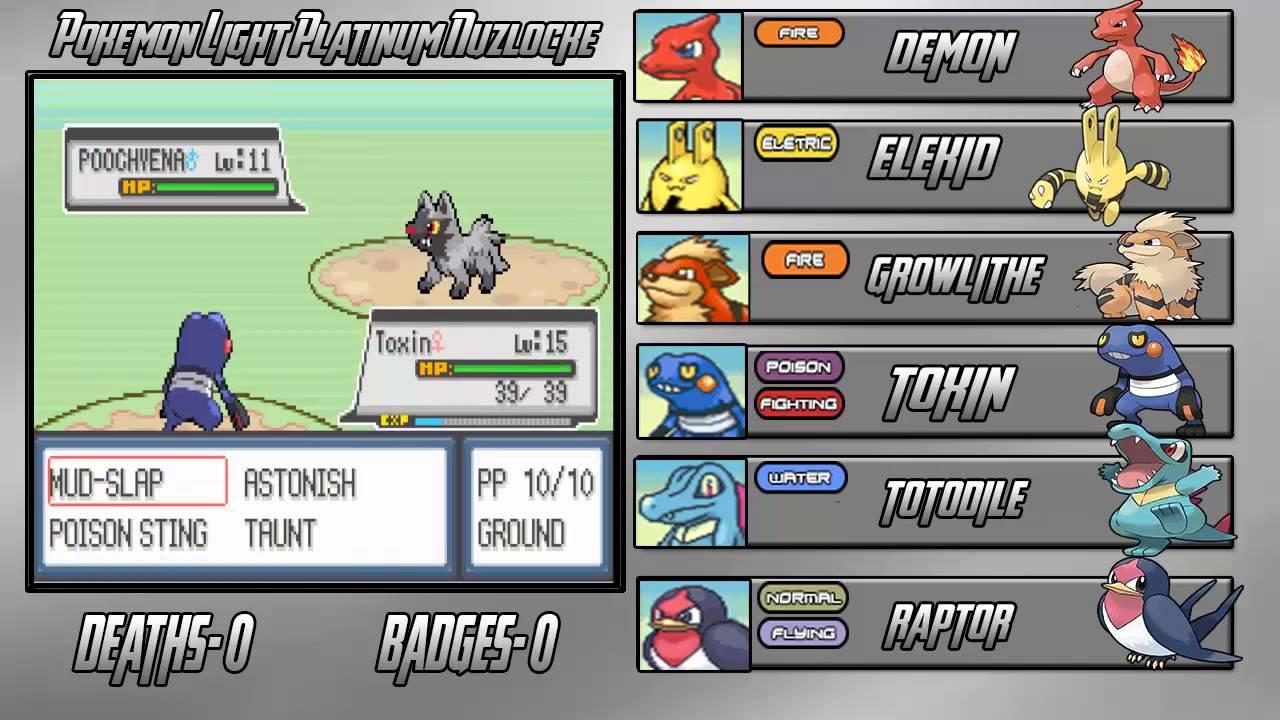 Freebies pokemon platinum light