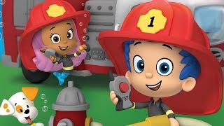 Bubble Guppies Full TV Episode Game for Children (Firefighter Knights To The Rescue)