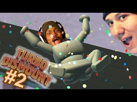 A DAY WITH MY BEST FRIEND | Turbo Dismount #2