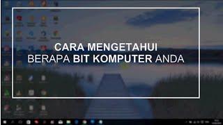 download lagu Cara Cek / Mengetahui Berapa Bit Komputer / Laptop gratis