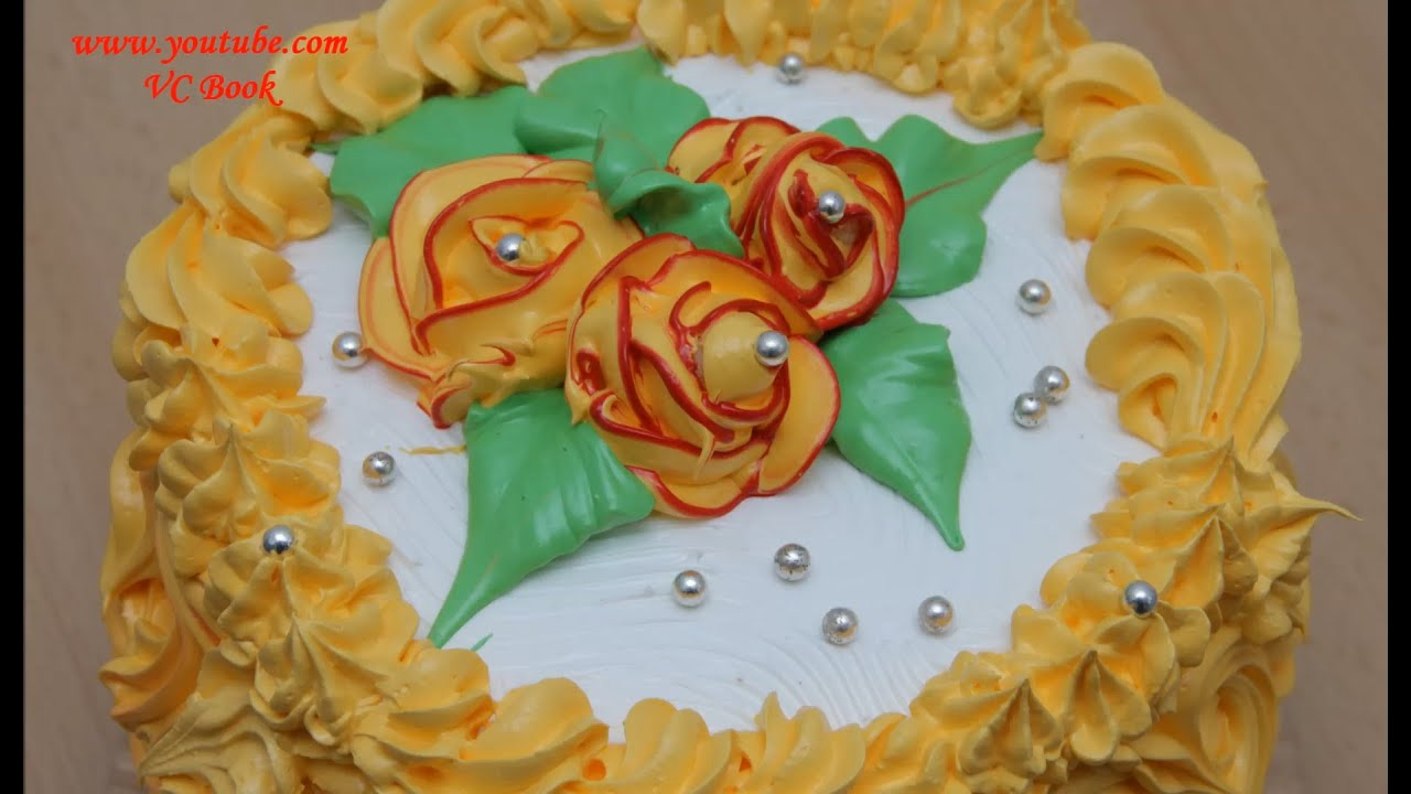 Тортики из крема в домашних условиях