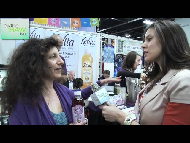 KeVita Interview with Chakra Earthsong-Levy at Expo West - Blythe Raw Live