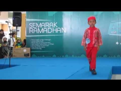 Farell Ngejajal Mental Ikutan Lomba Fashion Show Busana Muslim