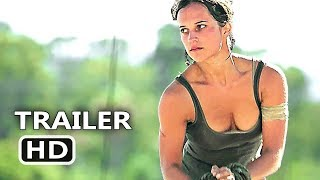 TOMB RAIDER Extra Footage Full online (2018) Alicia Vikander Action Movie HD Poster