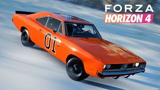 Forza Horizon 4 | General Lee in the Snow!