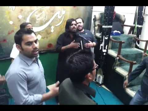 Al Madad Ya Zahra By Imran Mehdi Mumbai In Dubai 2012 video