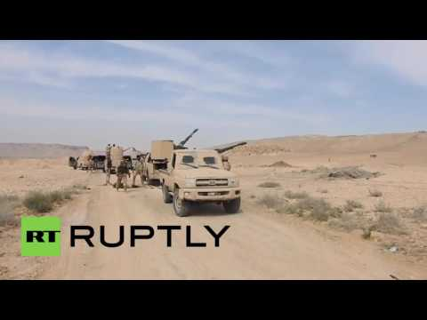 Syria: SAF launch airstrikes against IS in Homs province