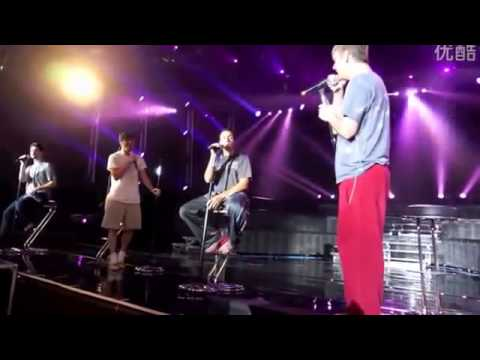 Backstreet Boys - In A World Like This Soundcheck video