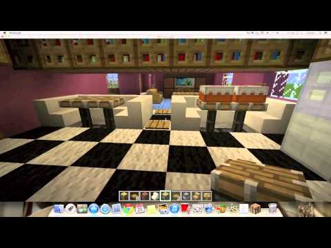 Minecraft: Decorando la casa de los Simpsons 1.6.2