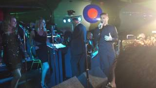 Gary Barlow, Eliot Kennedy Swing session, Hidden Wounds Concert, Doncaster 12.11.2016