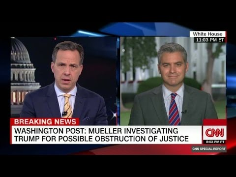 Trump's lawyer doesn't deny obstruction report