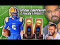 The 2X NATIONAL CHAMPIONSHIP QB Who Has 0 Division 1 Offers!!!- Trenton Bourguet Highlights