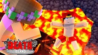 Minecraft LOVE ISLAND - ROPO FALLS INTO A VOLCANO ON DEATH ISLAND!!