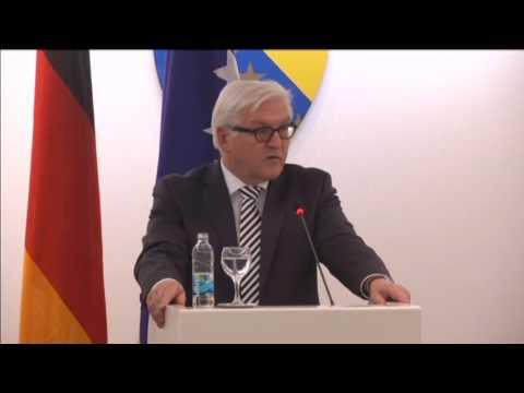 Bosnia EU Membership Bid: Germany and UK FMs press Bosnia to pursue reforms