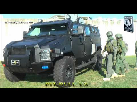 Alpine Armoring Pit Bull VX Armored  SWAT Truck