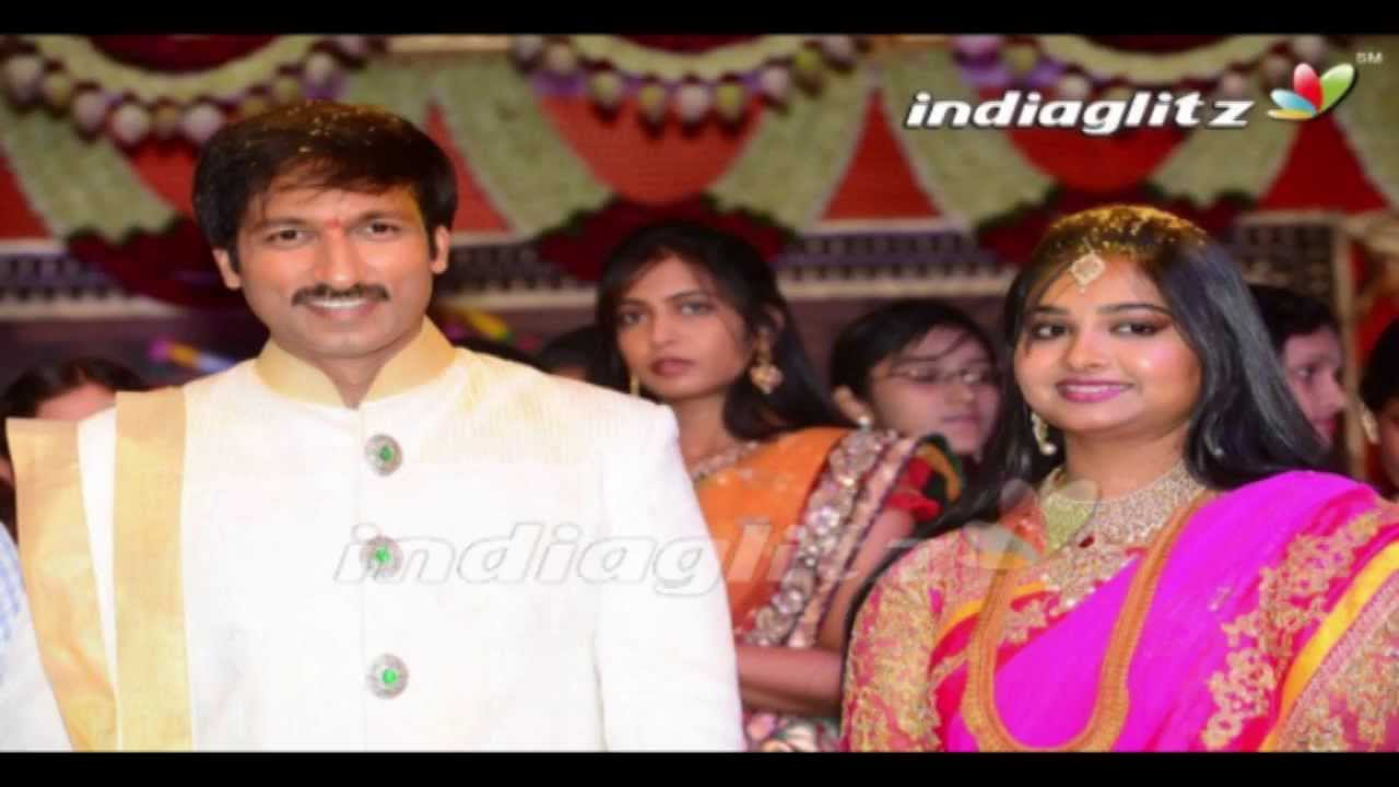 Gopichand marriage videos live from near