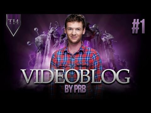 Videoblog by prb #1 @ The International 2014 (With ENG subs)