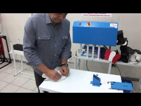 Máquina de Acabamento de Sandálias e Chinelos — Compacta Print