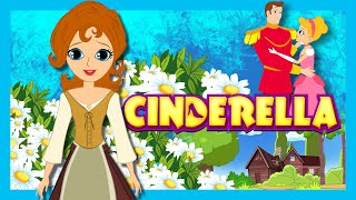 A CINDERELLA Story Fairy Tales For Kids -  Full Story