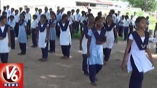 TRS Govt Speedup Aadhaar Enrollment For Students | Mobile Aadhaar Center | Rajanna Sircilla