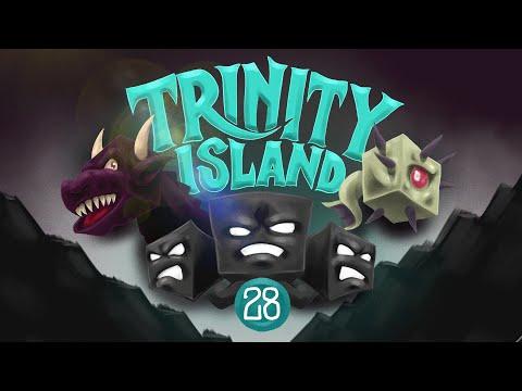 Minecraft: FIGHTING THE ENDER DRAGON! - Trinity Island (Hardcore) - [28]