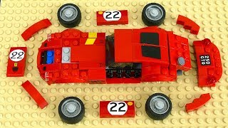 Construction Vehicle Toy Assembly Video for Kids. Cars: Excavator, Crane, Helicopter and racing car