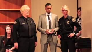 First Somali-American police officer in Oregon sworn in